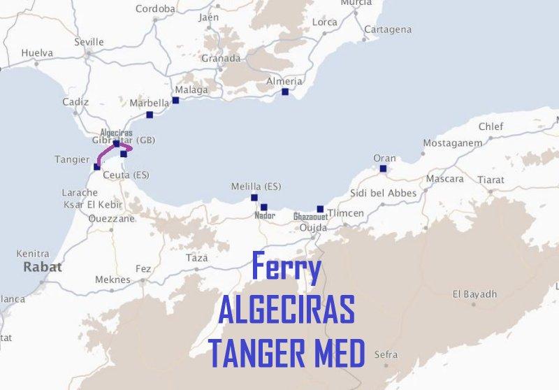 ferry algeciras tanger med avec trasmediterranea. Black Bedroom Furniture Sets. Home Design Ideas