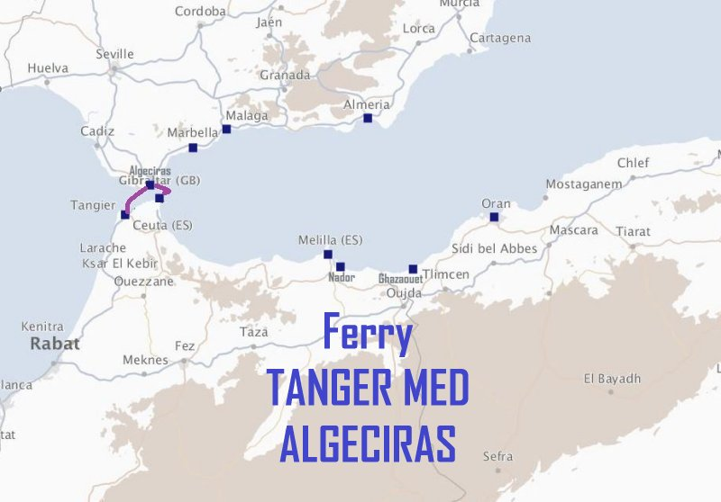 ferry tanger med algeciras avec trasmediterranea. Black Bedroom Furniture Sets. Home Design Ideas