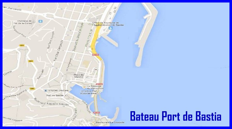 Ferry au d part du port de bastia horaires r servations ferries - Nice bastia bateau ...